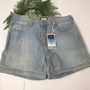 Levi's 515 mid rise jeans shorts women's 12